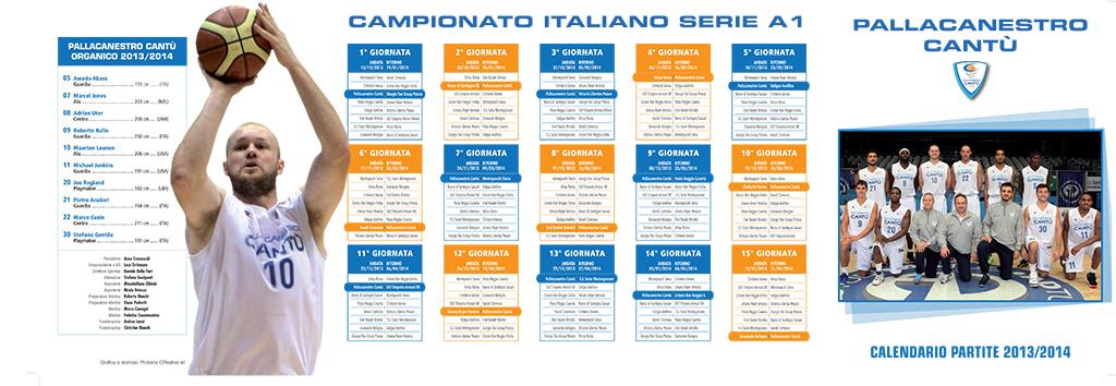 Calendario Beko Serie A.Calendario Serie A Beko Pallacanestro Cantu Proteina